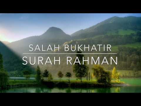 Download Lagu Surah Rahman   Salah Bukhatir