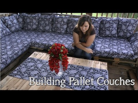 How to Build Pallet Couches