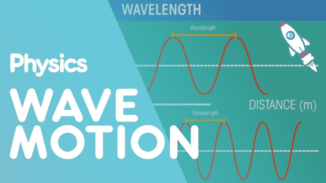 wave motion waves physics fuseschool [ 1280 x 720 Pixel ]