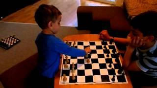 White David Martirosyan (2,5 years )  - Black Ara Martirosyan  (9 years)