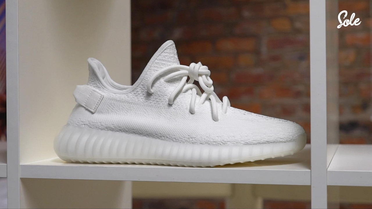 e458a1c750ca Yeezy Boost 350 V2 Triple White Unboxing   Review - YouTube