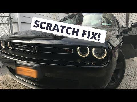 Dodge Challenger – Scratch Fix! (Mopar Paint)