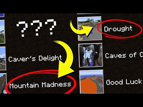 Minecraft's HIDDEN Custom WORLDS