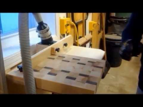 Fabrication d'une planche à découper