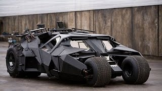 Batman Arkham Knight - The Tumbler Batmobile and Arkham Asylum Skin Gameplay