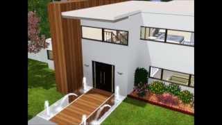 Sims 3 Modern Family home