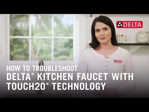 How to Troubleshoot a Delta® Kitchen Faucet with Touch2O® Technology