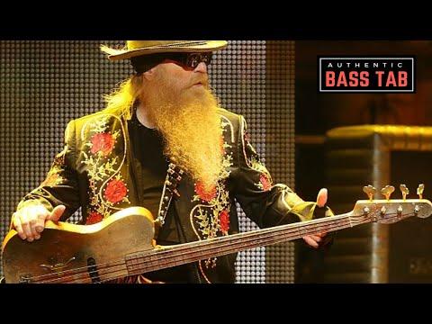 ZZ Top - La Grange 🎸 Authentic Bass Cover + TAB