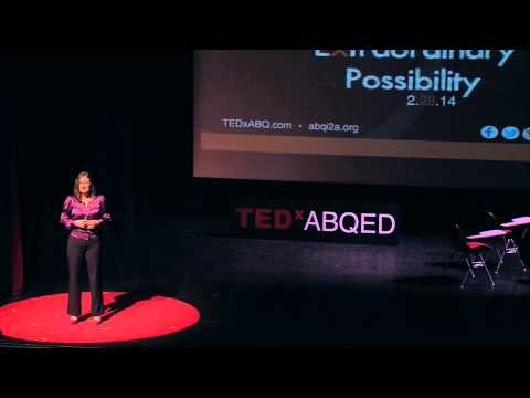 How education can end homelessness: Tracy Sharp at TEDxABQED
