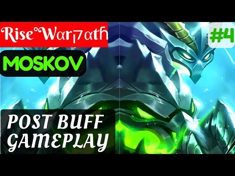 Post Buff Gameplay [Rank 7 Moskov] | Rise°Wαrקαtɦ Moskov Gameplay and Build #4 Mobile Legends