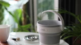 단미 휴대용 실리콘 접이식 전기포트(DA-KES01) …