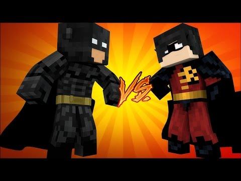 BATMAN vs ROBIN - Versus - Minecraft // FRANGO