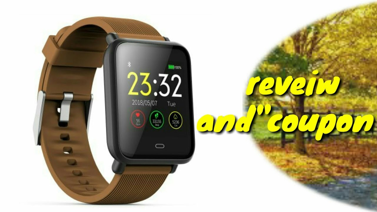 Review for Q9 Waterproof Sports Smart Watch for Android / iOS