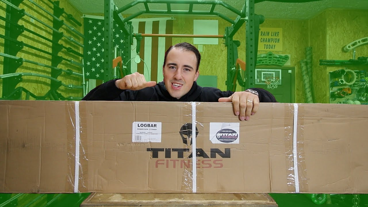 UNBOXING: New TITAN Fitness Equipment!
