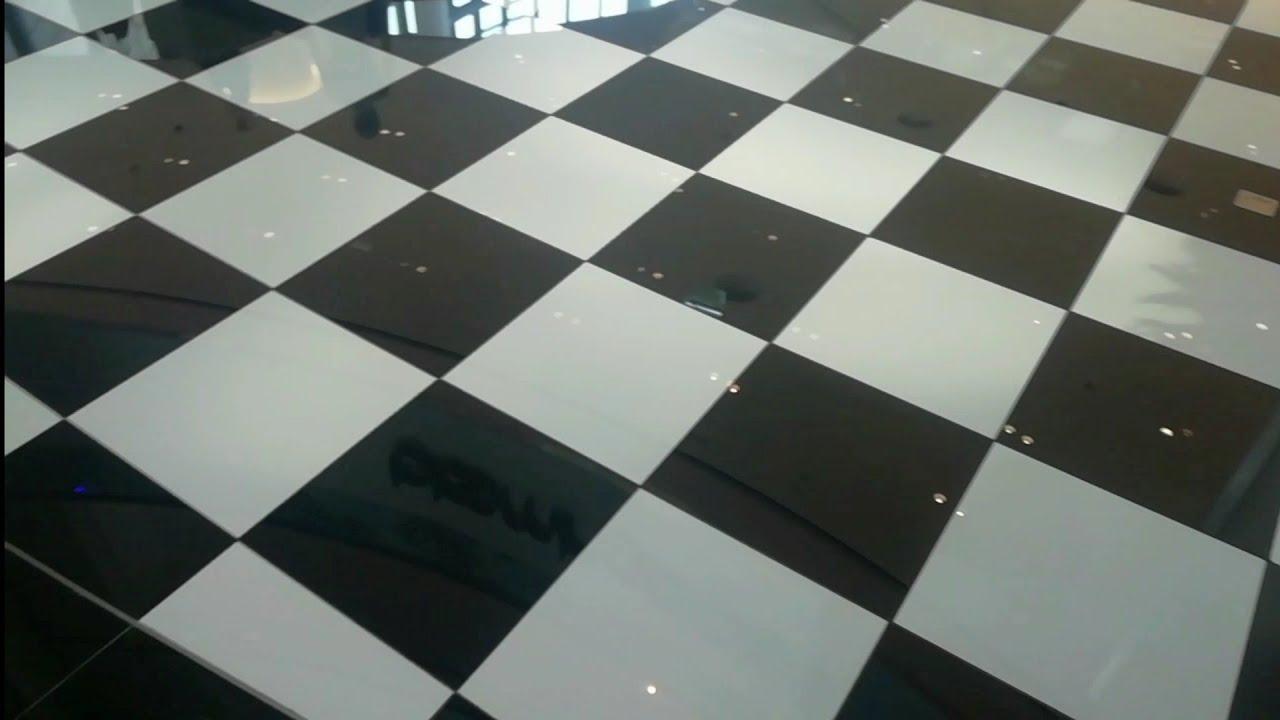 Chess Style Floor Tiles Design Youtube