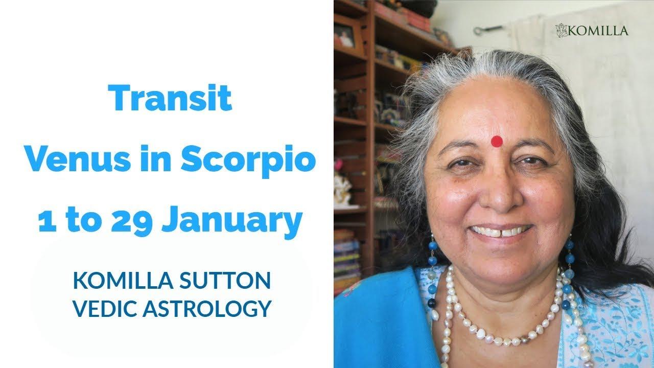 vedic astrology venus in scorpio