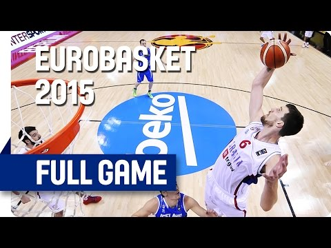 Serbia v Iceland - Group B - Full Game - Eurobasket 2015