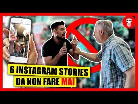 Le 6 Instagram Stories da NON fare MAI - [Esperimento Sociale] - theShow