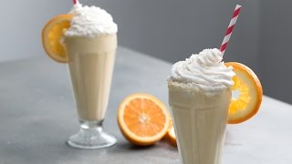 Boozy Orange 50/50 Milkshake