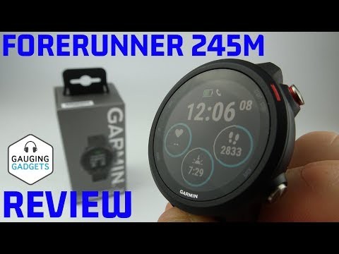 garmin-forerunner-245-music-review-and-unboxing---one-day-first-impressions