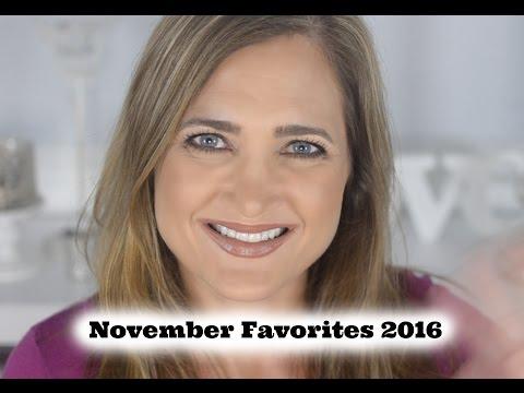 November Favorites 2016 | Makeup Favorites| Haircare Favorites| Cate Trunnell
