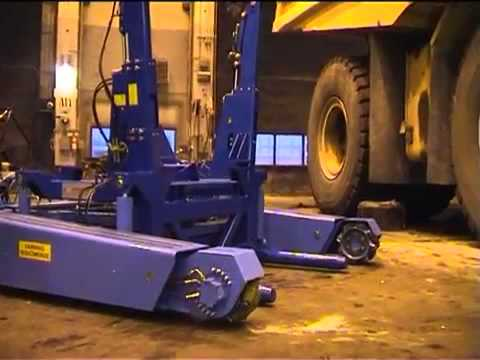 Komab Wheelcarrier for CAT 793