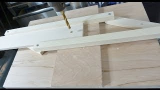 Self Centering Drill Press Jig