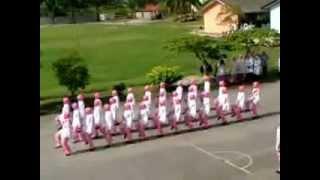 Kawad Kaki Puteri Islam(PPIM) Maahad Saniah Peringkat Sekolah 2013