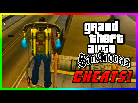 GTA San Andreas Xbox 360 CHEATS - Best & Funny San Andreas Xbox 360 Remastered Cheats! (GTA: SA)