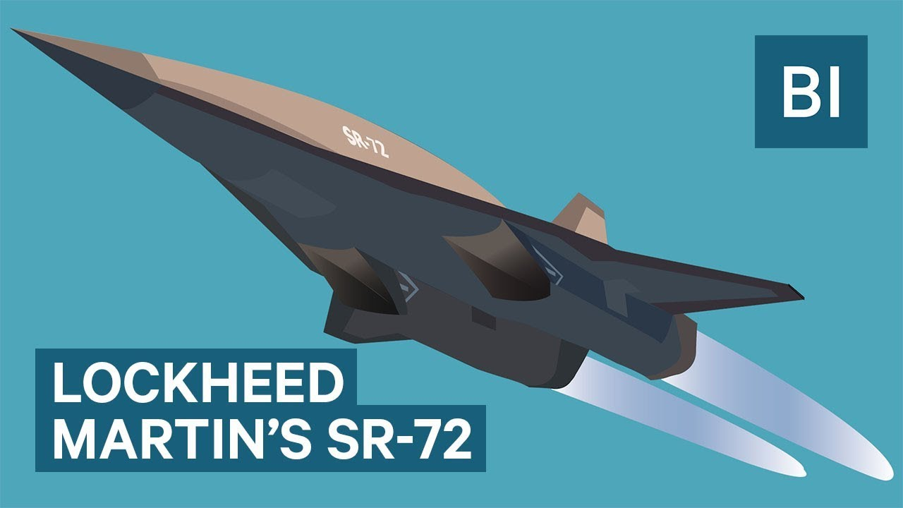Lockheed Martin S Mysterious Sr 72 The Fastest Plane Ever