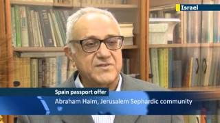 Spanish Passports for Sephardic Jews: Descendants of expelled Jews welcome EU passport option