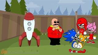 Dr. Eggman Tries to send Tails to the Moon/Punishment Day