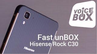 Unboxing Hisense Rock C30