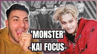 [Music Core K-pop Fancam] EXO Monster KAI | REACTION!!
