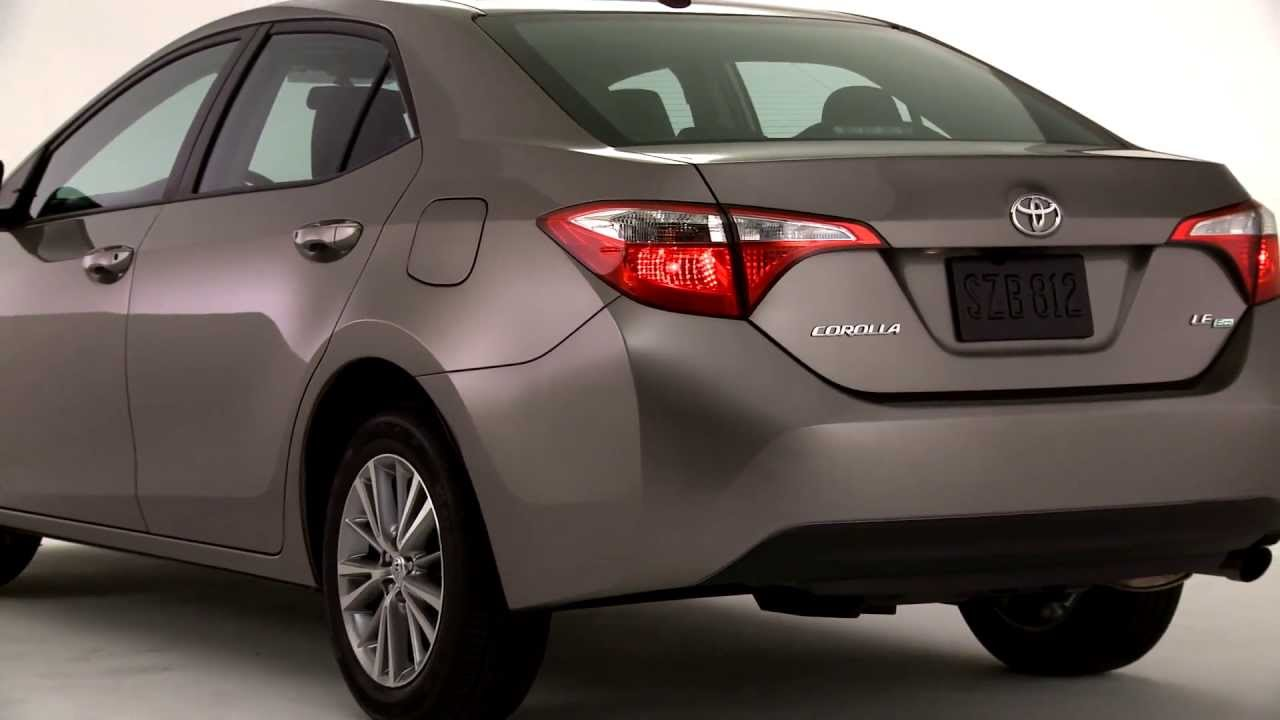 2014 Toyota Corolla Le Brown Sugar Youtube