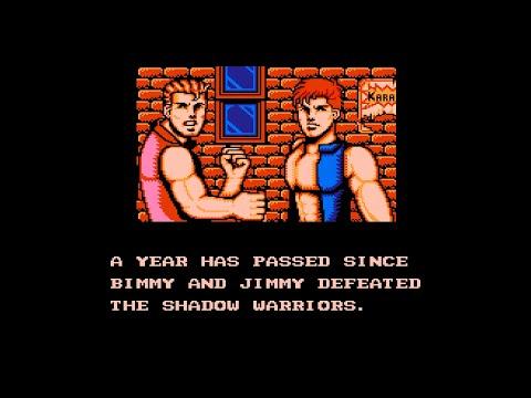 [NES 60fps] Double Dragon III - The Sacred Stones 2 players longplay