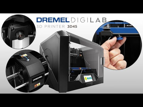 Dremel 3D45: Getting started