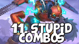 11 Stupid Ways to Kill Your Opponent [Hearthstone] | Top 3 Tavern Brawl