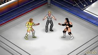 Fire Pro Wrestling World.