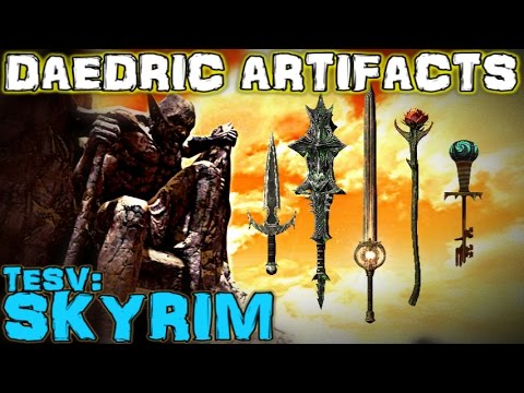 TESV: Skyrim - All Daedric Artifacts Guide (Vanilla)