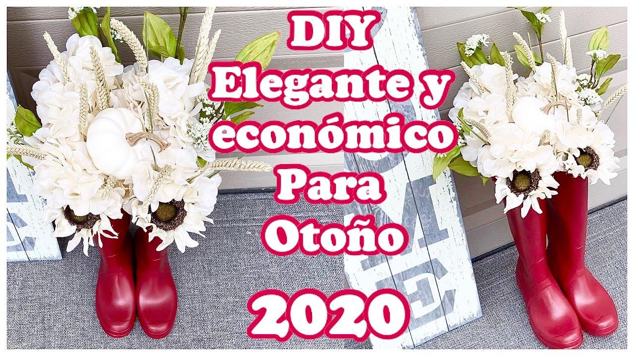 DIY-ARREGLO PARA LA ENTRADA FÁCIL Y ELEGANTE.  $6 DÓLARES!