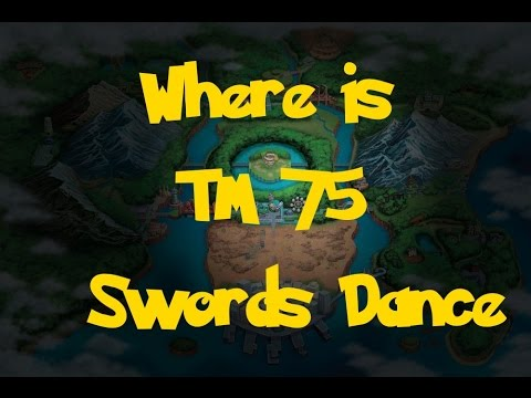 Where Is: TM 75 - Swords Dance (Pokemon Black 2/White 2)