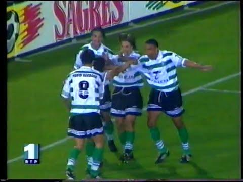 26J :: Sporting - 2 x Porto - 0 de 1997/1998