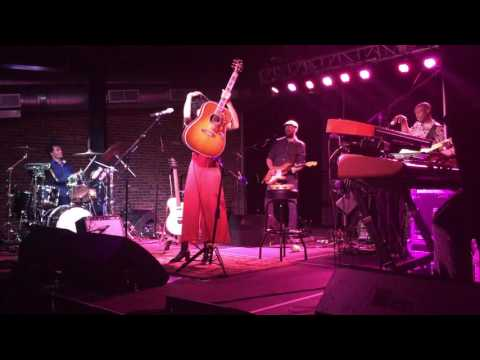 Jason Eskridge and Corinne Bailey Rae at Cannery Ballroom Aug 16th 2016