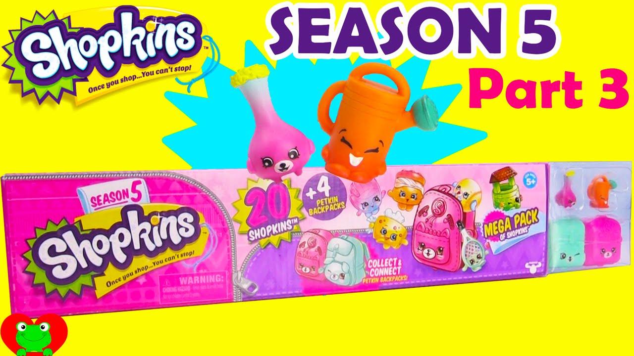 Shopkins SEASON 5 MEGA Pack Part 3 Of Toy Genie