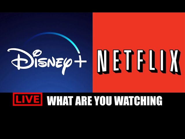 LIVE: Netflix vs Disney Plus - What Are You Watching?