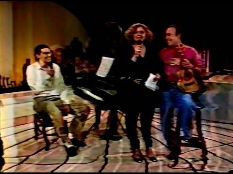 Canhotinho e Marco Bernardo no Programa Mulheres em Desfile - TV Gazeta (08/1991)
