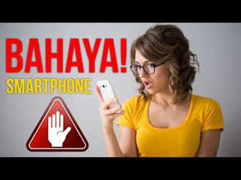 3 Dampak Negatif Terlalu Lama Menggunakan Smartphone