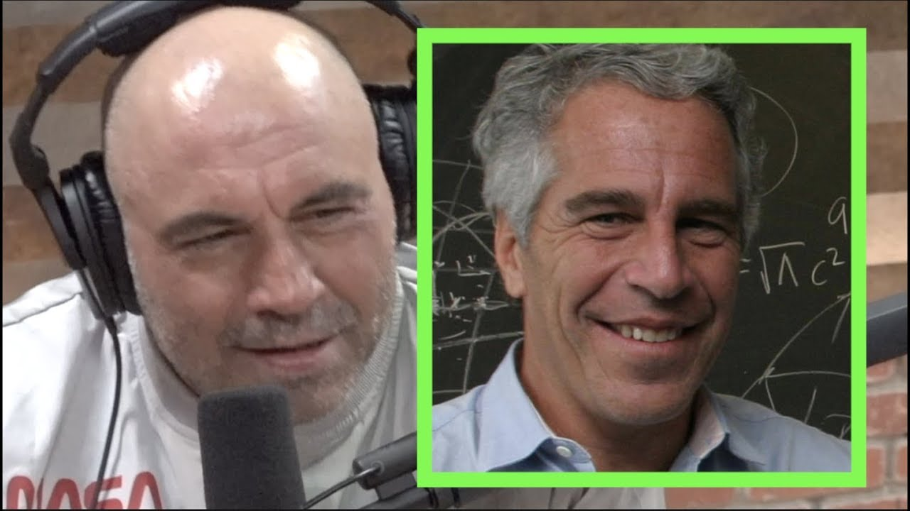 Joe Rogan Reacts to New Epstein Information