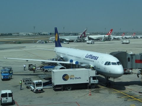 Flight Report - Lufthansa Airbus A321 Economy Class Istanbul to Munich